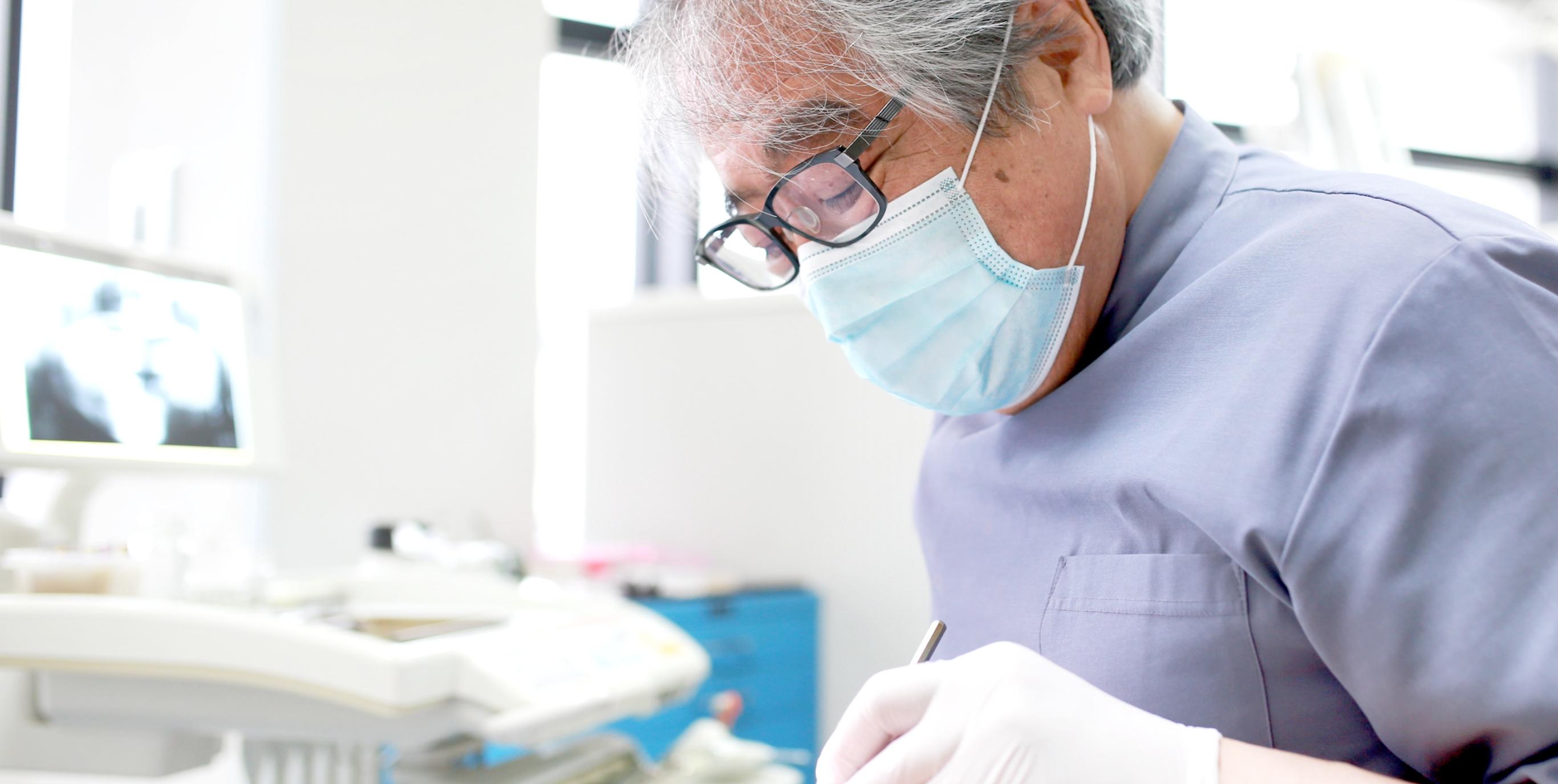 寄り添う診療 患者さまの立場に立ち、知識と自信をもって治療にあたります